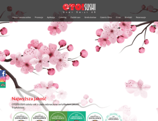 oto-sushi.pl screenshot