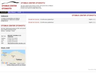 otobuscenter.otoraba.com screenshot