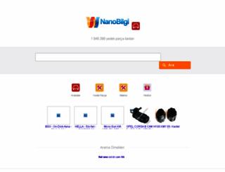 otoyedekparca.nanobilgi.com screenshot