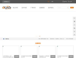 otpub.com screenshot