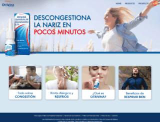 otrivina.com.ar screenshot