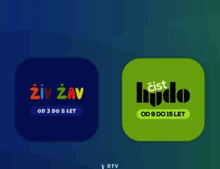 otroski.rtvslo.si screenshot