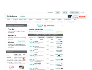 ottawagasprices.com screenshot