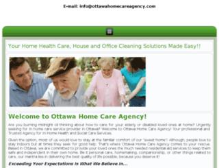 ottawahomecareagency.askforspecial.com screenshot