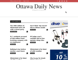 ottawainnews.com screenshot