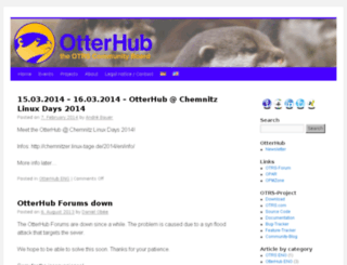 otterhub.org screenshot