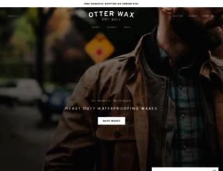 otterwax.com screenshot