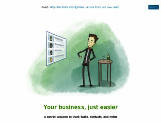 ottingerlaw.highrisehq.com screenshot