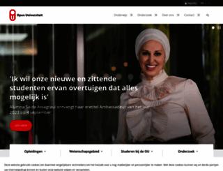 ou.nl screenshot
