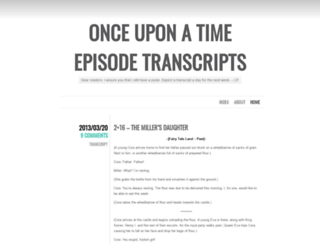 ouattranscripts.wordpress.com screenshot
