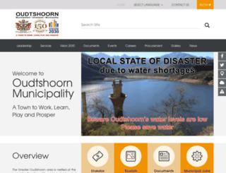 oudtmun.gov.za screenshot