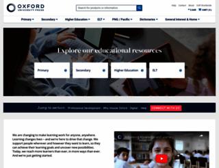 oup.com.au screenshot