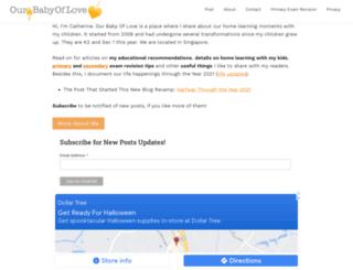ourbabyoflove.com screenshot