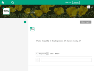 ourbgparks.mindmixer.com screenshot