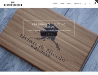 ourcuttingboard.com screenshot