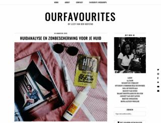 ourfavourites.nl screenshot