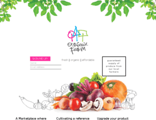ourganicfarm.com screenshot