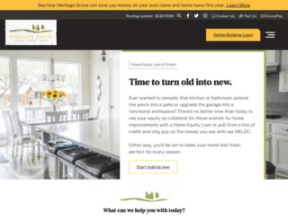 ourgrovecu.com screenshot