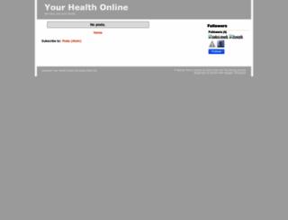 ourhealthonline.blogspot.co.uk screenshot