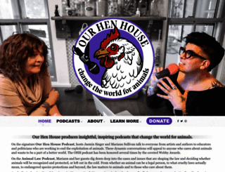 ourhenhouse.org screenshot