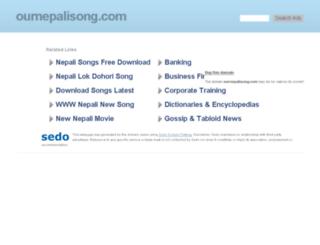 ournepalisong.com screenshot