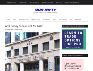 ournifty.com screenshot