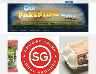 ourparentingworld.com screenshot