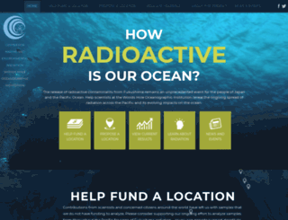 ourradioactiveocean.org screenshot
