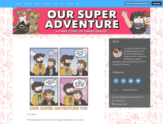 oursuperadventure.tumblr.com screenshot