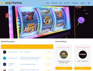 ourworkshop.co.uk screenshot