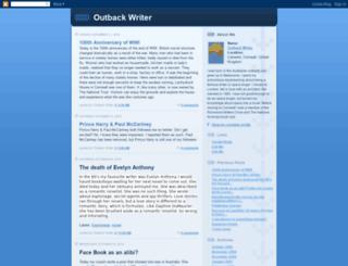 outbackwriter.blogspot.fr screenshot