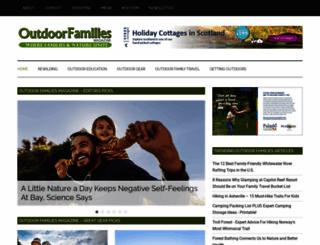 outdoorfamiliesonline.com screenshot
