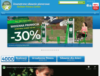outdoorfitness.pl screenshot