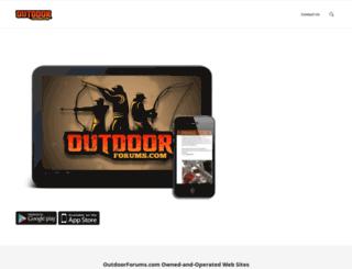 outdoorforums.com screenshot