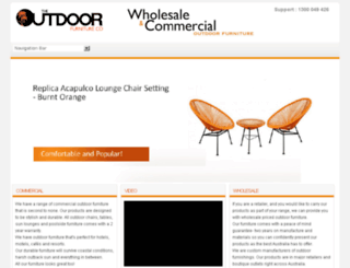 outdoorfurniturecompany.com.au screenshot