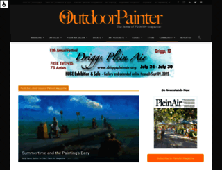 outdoorpainter.com screenshot