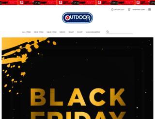 outdoorproducts.jp screenshot
