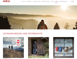 outdoorshop-magazin.de screenshot