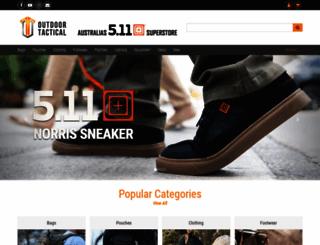 outdoortactical.com.au screenshot