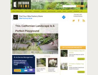 outdoortheme.com screenshot