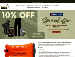 outdoortravelgear.com screenshot