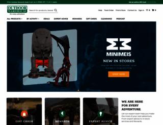 outdoorwarehouse.co.za screenshot