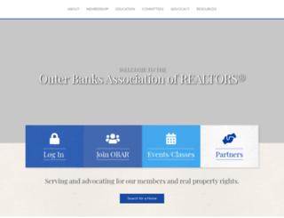 outerbanksrealtors.com screenshot