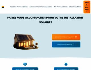 outilssolaires.com screenshot