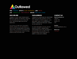 outlawed.com.au screenshot