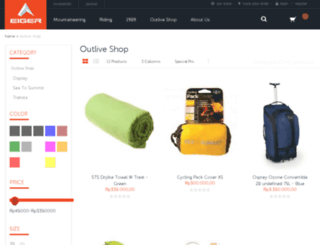 outlive-shop.com screenshot