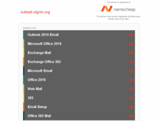 outlook-signin.org screenshot