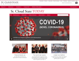 outlook.stcloudstate.edu screenshot