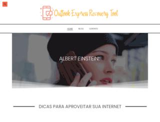 outlookexpressrecoverytool.com screenshot
