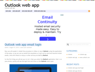 outlookwebapp.org screenshot
